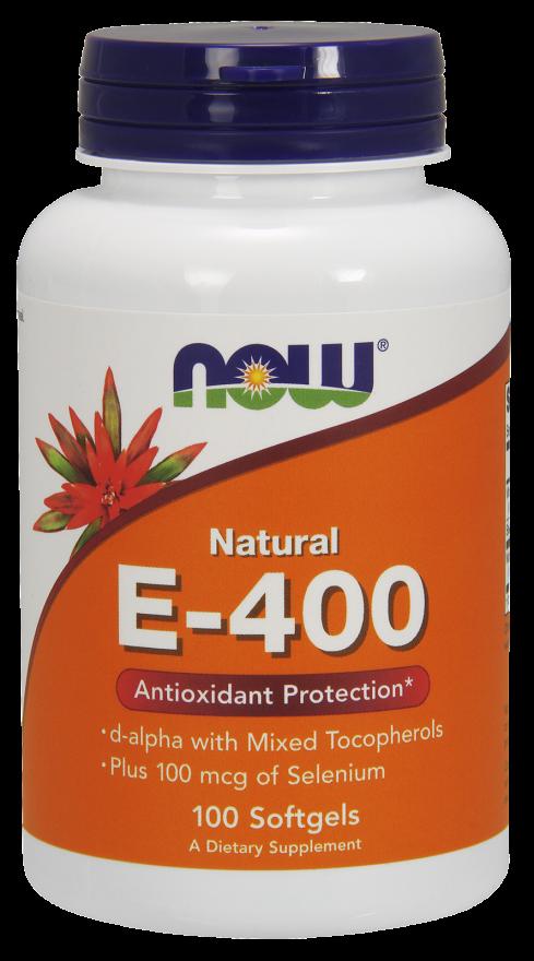 Витамин Е-400 плюс Селен 200 капсул