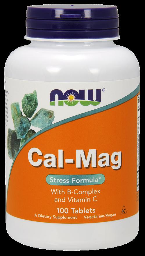 Кал-Маг Стресс формула с В-Комплексом и витамином С, 100 таблеток