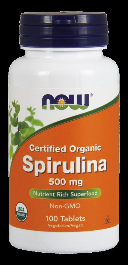 Спирулина 500 мг 100 таблеток