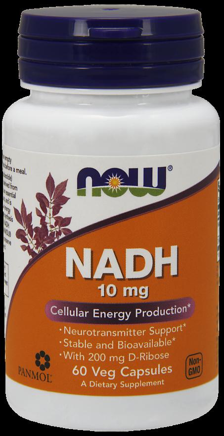 НАДХ (NADH) 10 мг 60 капсул