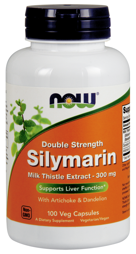 Силимарин экстракт 2Х 300 мг 100 капсул