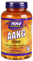 AAKG (L-Аргинин альфакетоглютарат) 3500 мг 180 таблеток