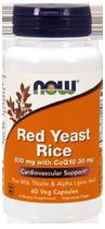 Красный дрожжевой рис 600 мг с Q10 30 мг 60 капсул